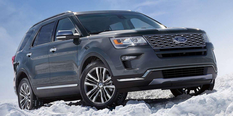 Ford presentó el Explorer 2019