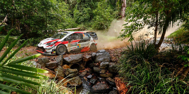 Toyota vuelve a proclamarse campeona del mundo de rallies 19 años después