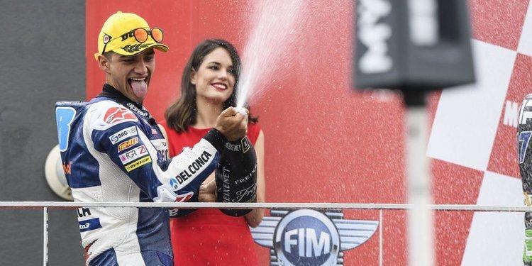 """Jorge Martín: """"Quería terminar en el podium"""""""