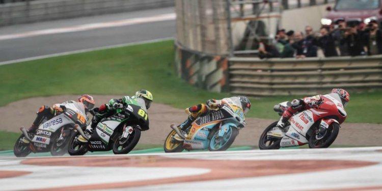 Cambios en el formato de clasificación de Moto3 y Moto2 para 2019