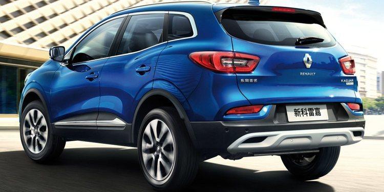 Renault presentó un renovado Kadjar para China