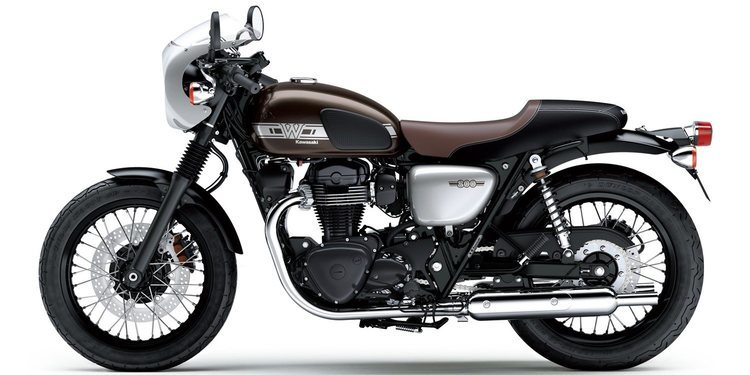 Regresa la Kawasaki W800 Cafe