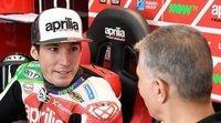 """Aleix Espargaró: """"No será fácil para Andrea, pero será de mucha ayuda para Aprilia"""""""