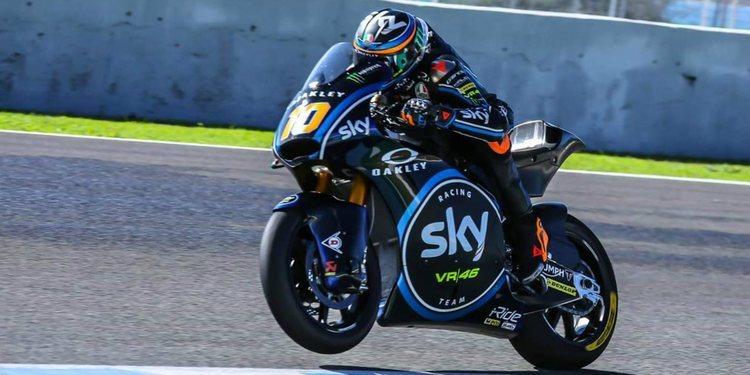 Los nuevos motores Triumph causan sensación en Jerez