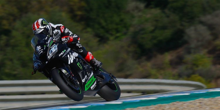 Jonathan Rea domina en Jerez