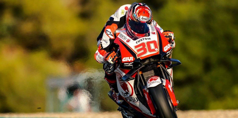 Takaaki Nakagami domina los test de Jerez