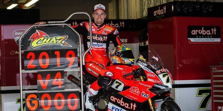 """Chaz Davies: """"Creo que la moto tiene un enorme potencial"""""""