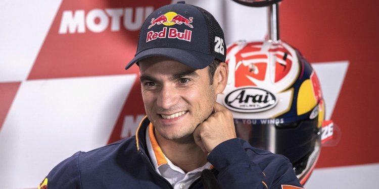 Dani Pedrosa probará la KTM en diciembre