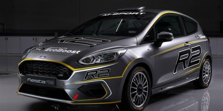 Así es el nuevo Ford Fiesta R2 para el JWRC