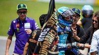 """Valentino Rossi: """"No sé cuál de los dos irá más rápido (sobre Bagnaia y Morbidelli), pero será divertido verles"""""""
