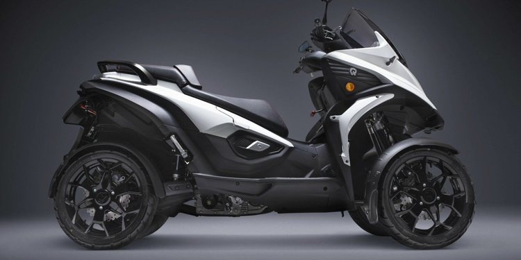 Zero Motorcycles y Quadro Vehicles trabajan en un Maxi Scooter