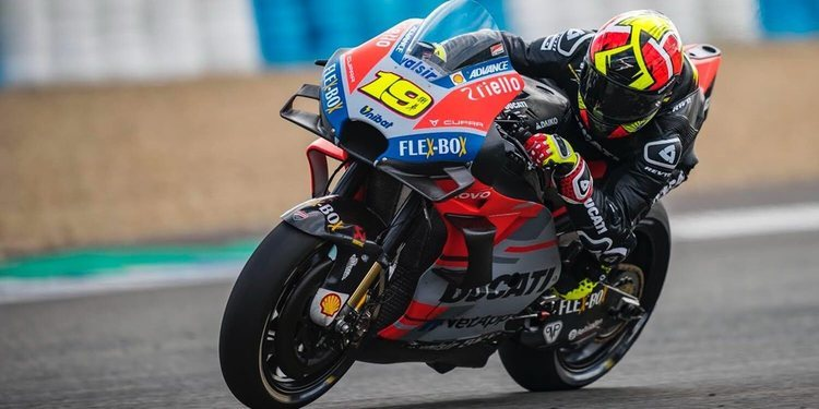 Ducati sigue probando con la aerodinámica