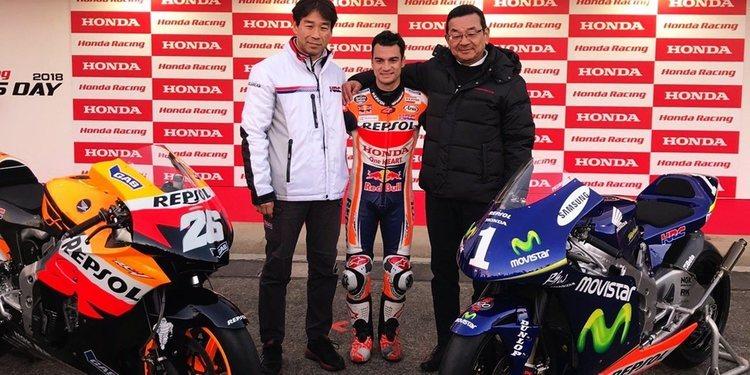 Honda le hace un regalo a Dani Pedrosa