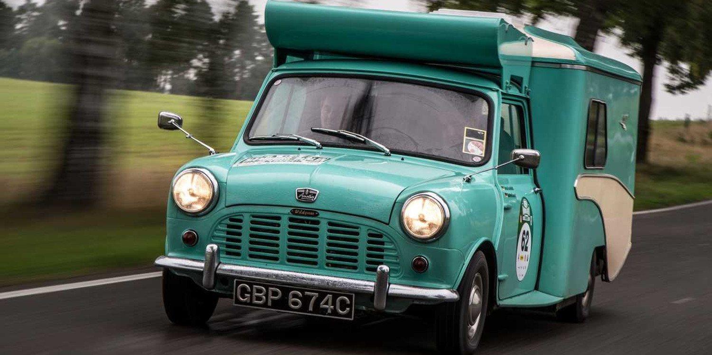 MINI Wildgoose, la pequeña autocaravana de los años 60
