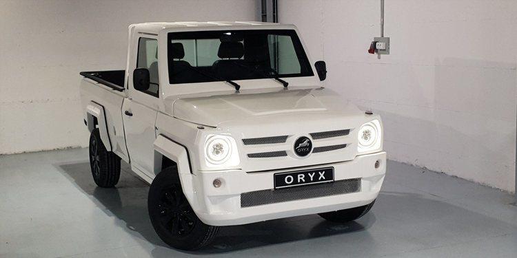 Oryx Motors presenta el Timgad Pick Up