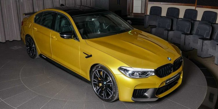 Conoce el poderoso BMW M5 Competition Austin Yellow