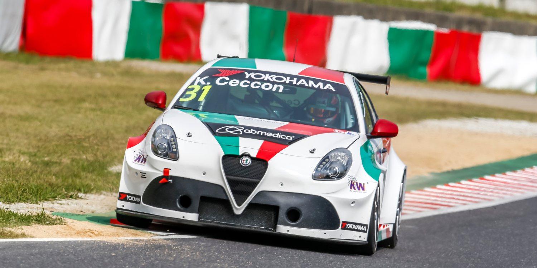 Sigue el desarrollo del Alfa Romeo Giulietta TCR