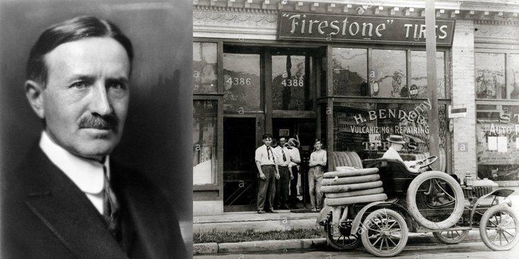 La biografía de Harvey Firestone, uno de los padres de los neumáticos