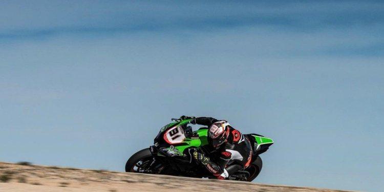 Primera prueba de Jordi Torres con el Team Pedercini Racing
