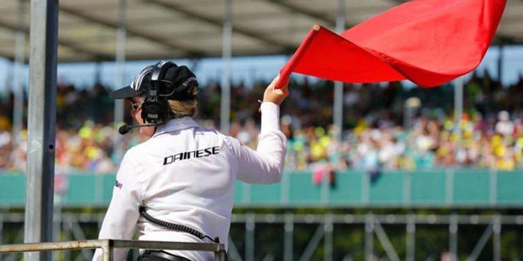 MotoGP, deja clara la normativa cuando hay bandera roja