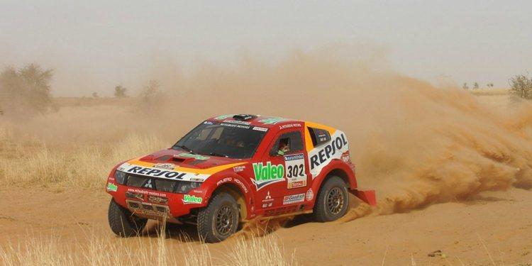 Los cambios de asiento en Dakar: Mitsubishi, BMW, Volskwagen, Mini, Toyota, Peugeot...
