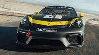 Porsche presentó el 718 Cayman GT4 Clubsport
