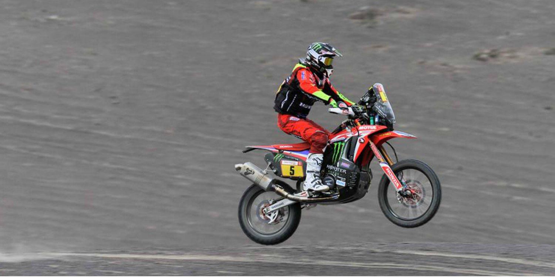 El asalto de Barreda al Dakar 2019 acaba en un barranco