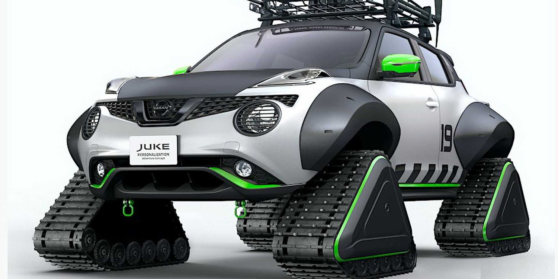 Nissan Juke Personalization Adventure Concept, de la carretera a la nieve
