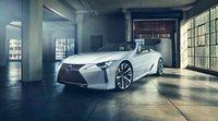 El Lexus LC convertible para Detroit