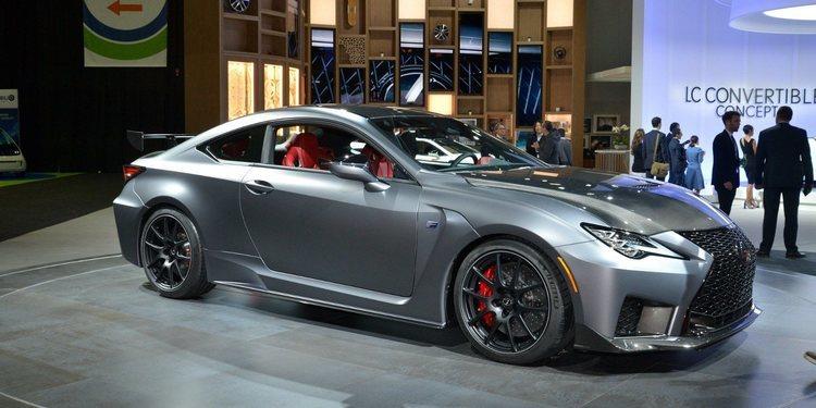 Lexus presentó el impresionante RC F Track Edition