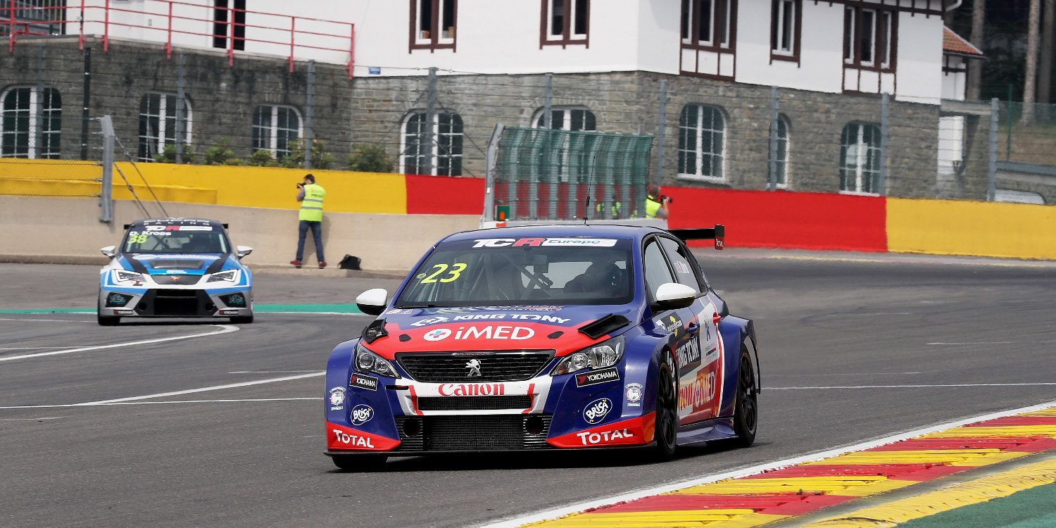 Spa Francorchamps y las TCR Series se unen para una larga carrera