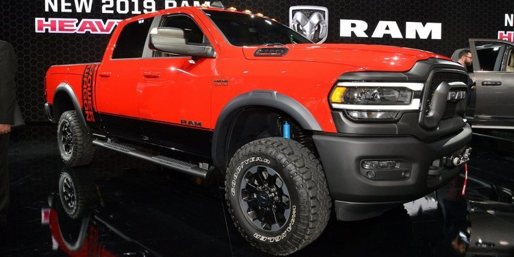 Dodge impresionó con el Ram 2500 Power Wagon Packs