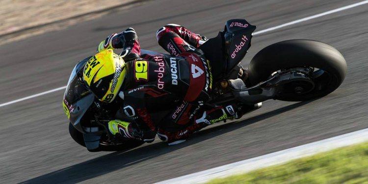 Vuelta a los test de pretemporada de Superbikes en Jerez