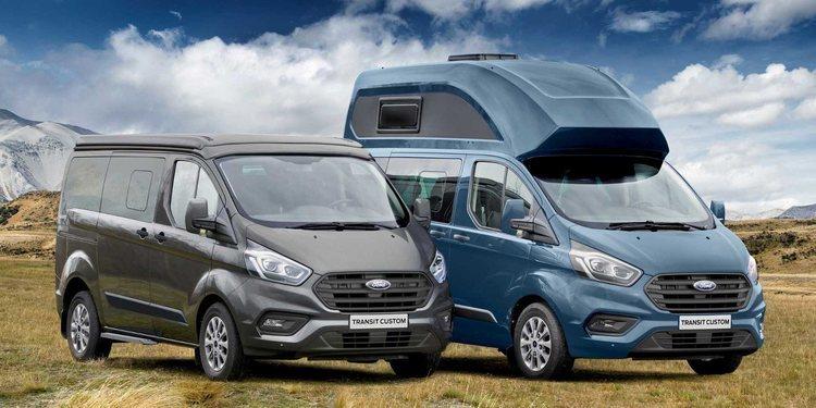 El Ford Transit Custom Nugget 2019 para Europa