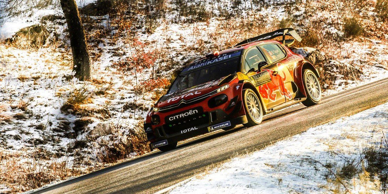 Sébastien Ogier lidera el Rally Monte-Carlo por la mínima