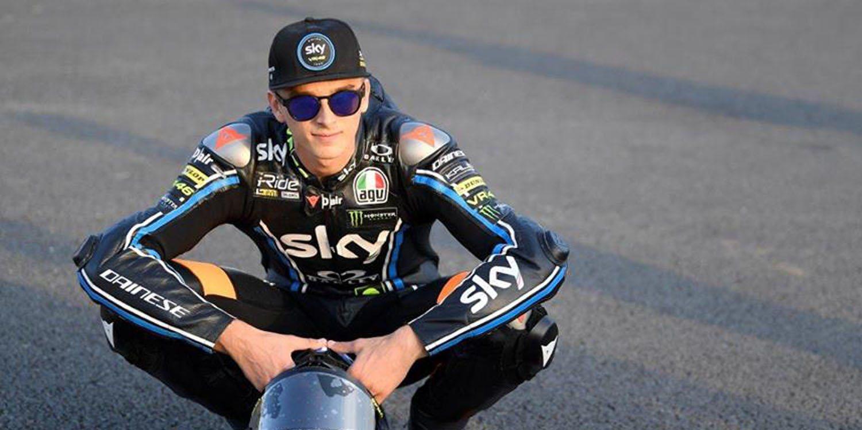 Luca Marini, la principal baza del SKY Racing Team VR46