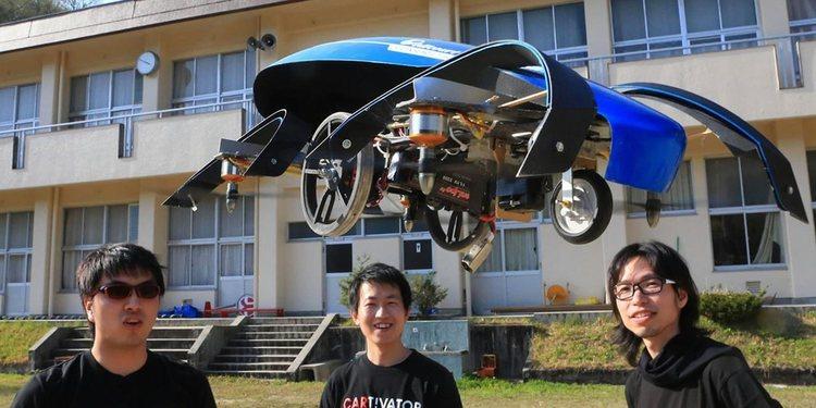El Skydrive será el auto volador de Japón