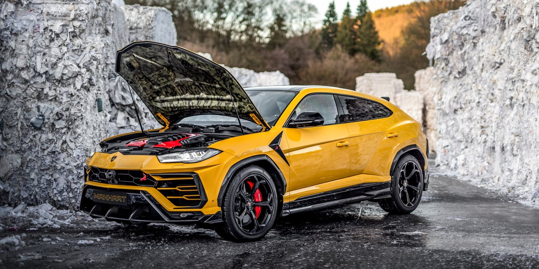 Manhart potencia al Lamborghini Urus
