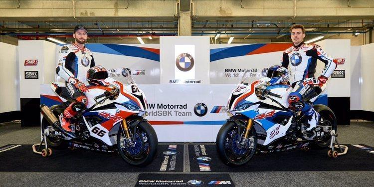 BMW presentó sus colores en los test de Portimao