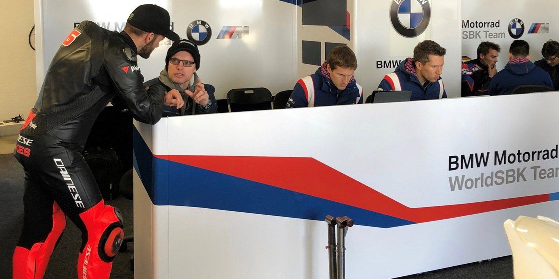 """Tom Sykes: """"Estoy impresionado con la BMW"""""""