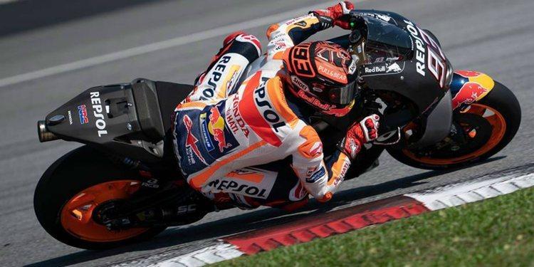 Concluye la primera jornada de entrenamientos de MotoGP en Sepang