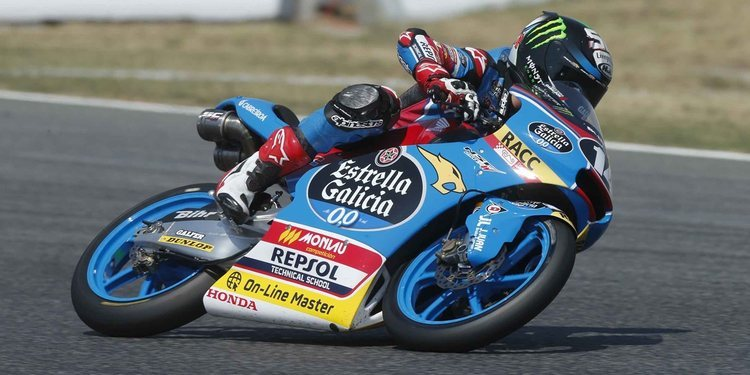"""Sergio García: """"Llegar a MotoGP es un sueño que tengo desde pequeño"""""""