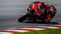 Ducati comanda el tercer y último día de acción en Sepang