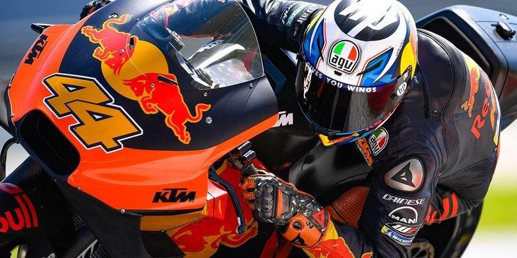 Pol Espargaró, centrado en desarrollar la KTM