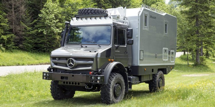 Mercedes-Benz Unimog by Bimobil
