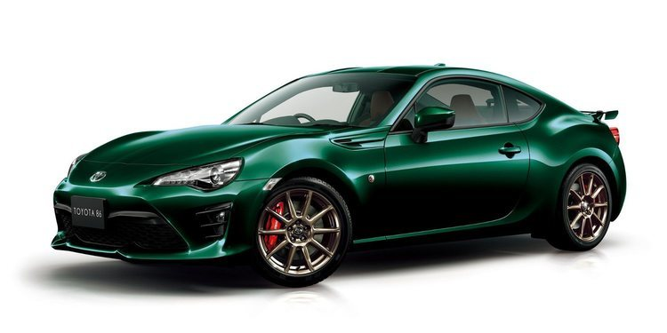 Toyota anunció el GT86 British Green Limited Edition
