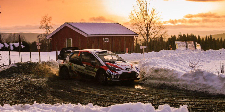 Ott Tänak acaricia el triunfo en Suecia y el podio se pone al rojo vivo