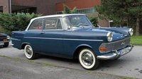 La historia del Opel Rekord, primera parte