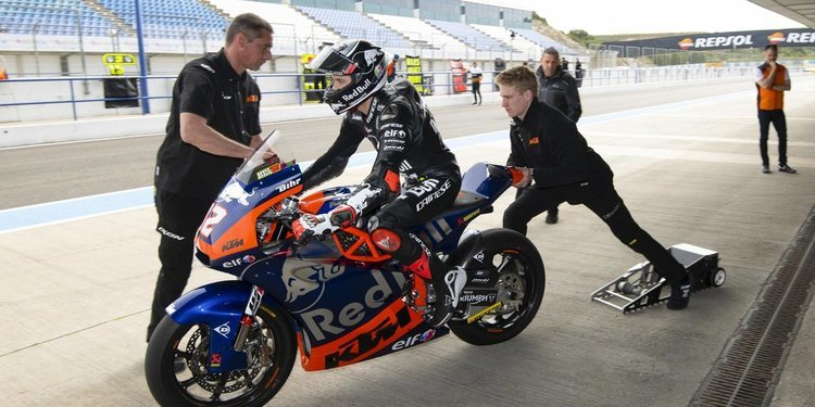 Comienzan en Jerez los test IRTA de Moto2 y Moto3