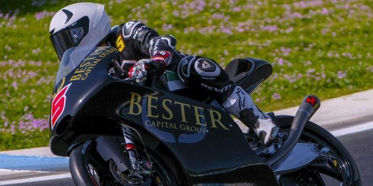 Binder y Masiá, los más rápidos en Jerez